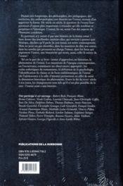 L'ennui ; histoire d'un état d'âme (XIXe-XXe siècle) - 4ème de couverture - Format classique