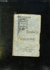 Deutch Grammatif. - Couverture - Format classique