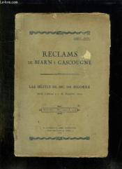 Reclams De Biarn E Gascougne. Las Hestes De Bic De Bigorre. 30 - 31 Aoust E 1 Septeme 1924. Texte En Gascon. - Couverture - Format classique