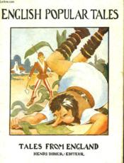 English Popular Tales. Tales From England - Couverture - Format classique