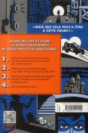 Les fausses bonnes questions de Lemony Snicket t.1 - 4ème de couverture - Format classique
