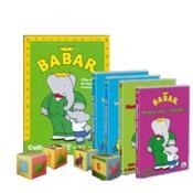 Babar - Coffret 4 Dvd + 12 Cubes En Carton