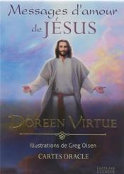 Vente  Messages d'amour de Jésus ; coffret ; cartes oracle  - Doreen Virtue - Greg Olsen