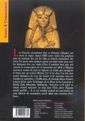 Ramses ii - 4ème de couverture - Format classique