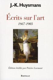 Écrits sur l'Art ; 1867-1905 - Intérieur - Format classique
