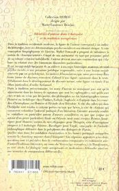 Identites D'Auteur Dans L'Antiquite Et La Tradition Europeenne - 4ème de couverture - Format classique