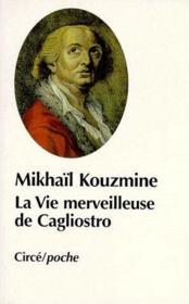 La vie merveilleuse de Cagliostro - Couverture - Format classique