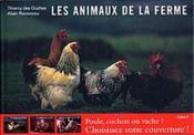 Les animaux de la ferme ; la poule - Couverture - Format classique