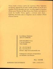 Les cocus ca s'arrose - 4ème de couverture - Format classique