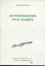Autobiographie d'un starets - Couverture - Format classique