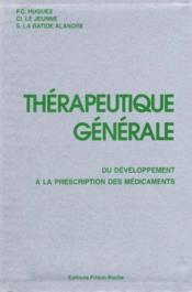 Therapeutique generale - Couverture - Format classique