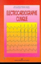 Electrocardiographie Clin - Couverture - Format classique