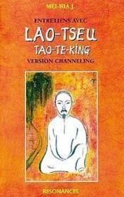 Entretiens Avec Lao Tseu Tao-Te-King - Couverture - Format classique