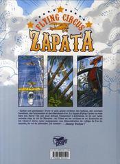 Tucker t.1 ; les derniers jours de Zapata - 4ème de couverture - Format classique