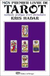 Mon premier livre de tarot - Couverture - Format classique