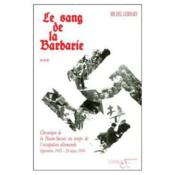 Le Sang De La Barbarie (T3) - Couverture - Format classique