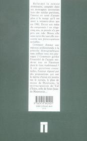 Architecture interdite - 4ème de couverture - Format classique