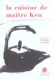 Cuisine De Maitre Keu - Intérieur - Format classique