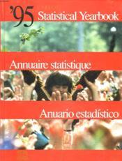 Annuaire statistique de l'unesco 1995 - Couverture - Format classique