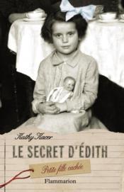 Le secret d'Edith, petite fille cachée - Couverture - Format classique