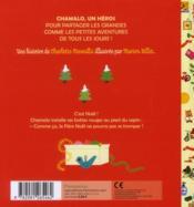 Chamalo fête noël - 4ème de couverture - Format classique