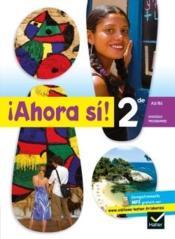 AHORA SI ; espagnol ; 2de ; fichier pédagogique (édition 2010) - Couverture - Format classique