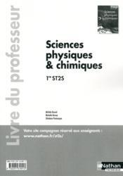Sc Phys/Chimiques 1e St2s - Couverture - Format classique