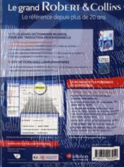 Français-anglais ; anglais-français ; coffret numérique - 4ème de couverture - Format classique