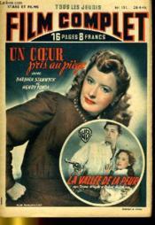 Stars Et Films - Tous Les Jeudis Film Complet N° 151 - Un Coeur Pris Au Piege - La Vallee De La Peur - Couverture - Format classique