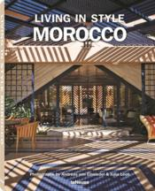 Vente  Living in style Morocco  - Collectif