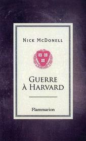 Guerre A Harvard - Intérieur - Format classique