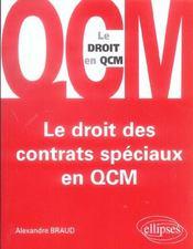 Le Droit Des Contrats Speciaux En Qcm - Intérieur - Format classique