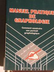 Manuel Pratique De Graphologie - Intérieur - Format classique