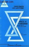 Paul Et Virginie - Parcours De Lecture - Couverture - Format classique