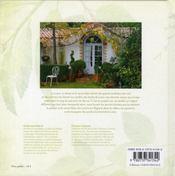L'âme des jardins des bords de Loire - 4ème de couverture - Format classique