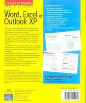 Word, excel et outlook xp - 4ème de couverture - Format classique
