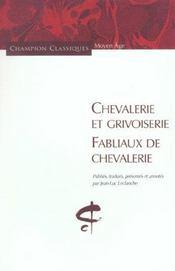 Chevalerie et grivoiserie - Intérieur - Format classique