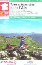 Tours et traversees dans l'ain 2005 - 01-39-69-gr9/gr59-901 - Intérieur - Format classique