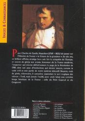 Napoleon - 4ème de couverture - Format classique