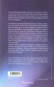 L'Arche Des Ombres T.1 - 4ème de couverture - Format classique