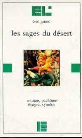 Les Sages Du Desert - Couverture - Format classique