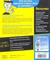 Dreamweaver Mx 2004 Pour Les Nuls - 4ème de couverture - Format classique