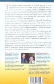 Deontologie Financiere. Breves Lecons. 2eme Edition - 4ème de couverture - Format classique