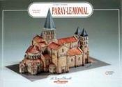 Paray-le-Monial ; basilique romane - Intérieur - Format classique