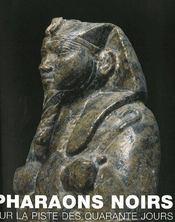 Pharaons noirs ; sur la piste des quarante jours - Intérieur - Format classique