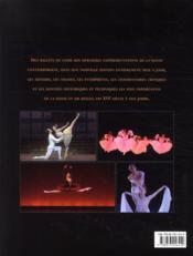Les grands ballets ; répertoire de cinq siècles de danse - 4ème de couverture - Format classique