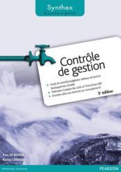 Synthex ; Contrôle De Gestion (3e Edition) - Couverture - Format classique