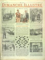 Dimanche Illustre N°98 du 11/01/1925 - Couverture - Format classique