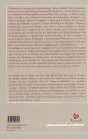 Banquet De Pauline Schmitt Pantel - 4ème de couverture - Format classique