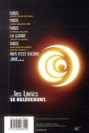 L'empreinte de cinq - 4ème de couverture - Format classique